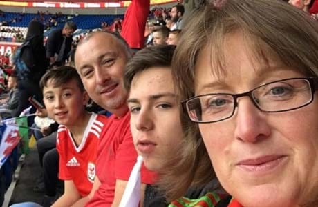 A chat about learning Welsh at her son's football match kicks off Marie's new career