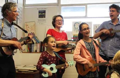 Musical family embrace the Welsh language in Barry
