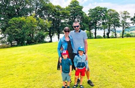 From Cambridge to Carmarthenshire: Welsh education attracts family to West Wales.